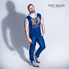 #twobearsbrand #clothsmen #bear #sportwear #pride #twobears #bearwear #tanktop #tshirt #fetish #denim #rawdenim #jeans Raw Denim, Sport Wear, Bears, Pride, Hipster, Tank Tops, How To Wear, T Shirt, Clothes
