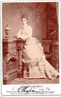 Princess Thyra of Denmark. later duchess of Cumberland. Mids 1870s.