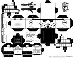 15 Star Wars Cubeecraft Paper Toy Models You Will Also Want To Make! - Star Wars Stormtroopers - Ideas of Star Wars Stormtroopers - Paper craft Star Wars Party, Theme Star Wars, Star Wars Birthday, Lego Star Wars, Star Trek, Paper Toy, Paper Cube, Dr Hut, Papercraft Star Wars