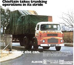 Albion Chieftain advertisment
