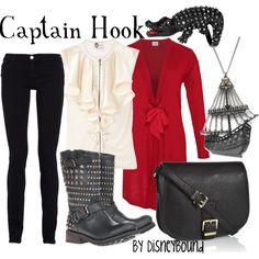 Captain Hook, created by lalakay I like the shirt
