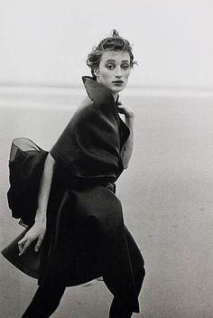 Peter Lindbergh Marie-Sophie Wilson Comme des Garçons Le Touquet 1987