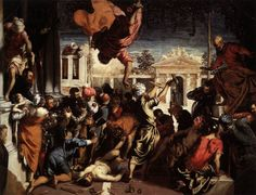 Jacopo Tintoretto - The Miracle of St Mark Freeing the Slave (1548)