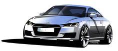 Audi TT Design Sketch