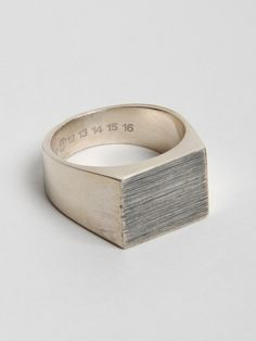 Maison Martin Margiela Jewelry At Oki-Ni | Definitive Touch - Men's Contemporary Style.