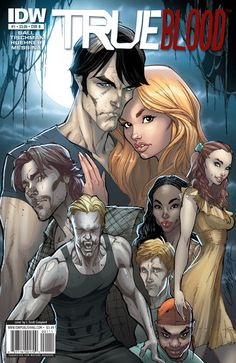 True Blood cover 1 Color by *J-Scott-Campbell
