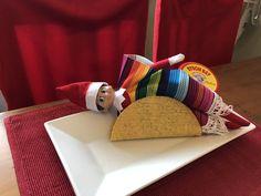Elf on Shelf - Taco Tuesday