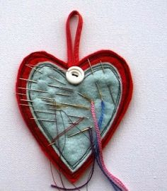 Super-quick tutorial: Hanging Heart for Needles