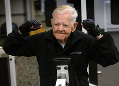 Three years ago, when Ray Clark was 98, he decided to start going to the gym.
