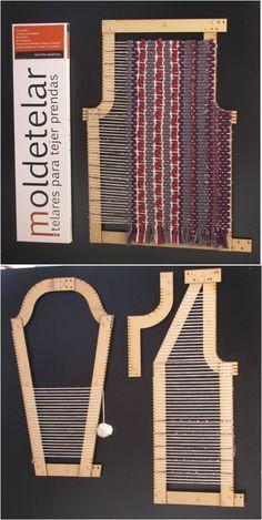 52 Ideas For Knitting Loom Basket Diy Tutorial Pin Weaving, Tablet Weaving, Loom Weaving, Weaving Textiles, Weaving Patterns, Tapestry Weaving, Weaving Projects, Fabric Manipulation, Weaving Techniques