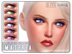 The Sims Resource: Materia  – Fantasy Eye Mask by Screaming Mustard • Sims 4 Downloads