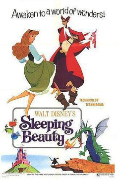 Put this fun-filled movie poster up on your wall and awaken to the magic of love's first kiss. The Disney Sleeping Beauty Movie Poster Wall Décor Plaque is the perfect piece for any fan of this Disney princess and her world of wonders. Posters Disney Vintage, Retro Disney, Disney Movie Posters, Vintage Movies, Disney Love, Disney Magic, Vintage Disney Art, Disney Animation, Disney Pixar