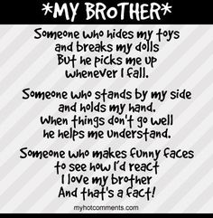 Brotherly Love Quotes Interesting Cute Brother And Sister Quotes And Sayings Pictures For Home Wall