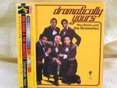 CD/Japan- THE DRAMATICS Dramatically Yours w/OBI RARE MINI-LP Gatefold Cover #FunkSoul