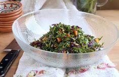 תחזירו את העגבניות והמלפפונים למקרר, לילנה ויינברג יש סלט שיגנוב את ההצגה לכל שאר המנות על השולחן: מלא טעמים ונוגדי חמצון, ככה שהוא לא רק יפה