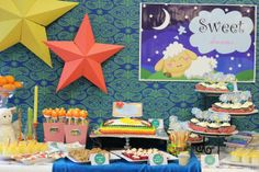 """Photo 1 of 54: Bedtime and Book / Baby Shower/Sip & See """"Bedtime Stories Baby Shower""""   Catch My Party"""