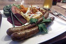 Hobbykos beste grobe Bratwurst Veggie Delight, How To Grill Steak, Food 52, Sauce, Superfood, Grilling, Bbq, Food And Drink, Veggies