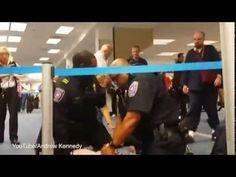 Good Samaritans Subdue Homophobic Racist Man at DFW Airport