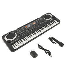 61 Teclas de Música Digital Electronic Keyboard Teclado de Piano Eléctrico de Regalo Regalo de la nueva llegada