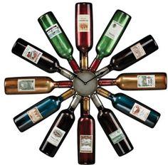 Πρωτότυποι τρόποι να αξιοποιήσεις ένα άδειο μπουκάλι κρασιού... ~ Ms. wOOddy