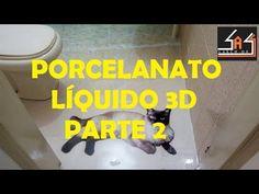 Porcelanato Liquido 3D - Passo a passo - Parte 2