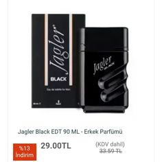 #Jagler #Black EDT 90 ML - #Erkek Parfümü   http://www.modahan.net/kozmetik-saglik-bakim-parfumler-kisisel-bakim-urunleri-agiz-ve-dis-bakimi-cilt-bakimi-erkek-bakimi-günes-kremleri-makyaj-aksesuar-makyaj-ürünleri-sac-bakimi-temizleyici-tirnak-bakimi-vucut-bakimi-bayan-parfum-bayan-parfum-setleri-bayan-k-21/parfumler-k-4277/erkek-parfumleri-k-10120/erkek-parfumleri-k-10121/jagler-black-edt-90-ml-erkek-parfumu-u-111529.html  #kapıdaödeme