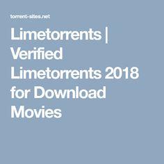 limetorrent download movies 2018