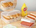 That's right, we eat a lot of hot dogs.---hotdog & bun keeper   $4.98  & $10.50 harrietcarter.com.