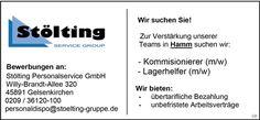 Stellenbezeichnung: Kommissionierer m/w Lagerhelfer m/w Arbeitsort: 45891 Gelsenkirchen Nordrhein-Westfalen, Deutschland Weitere Informationen unter: http://stellencompass.de/anzeige/?id=139393