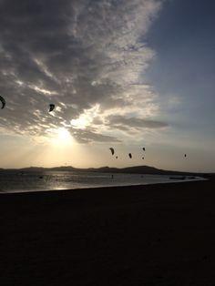 Kitesurf, Cabo de la Vela, Guajira, Colombia