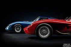 Ferrari 250 Testa Rossa and Ferrari 250 GTO