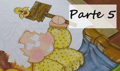 Projeto: Espantalho - Parte 5 - Como pintar uma plaquinha de madeira?