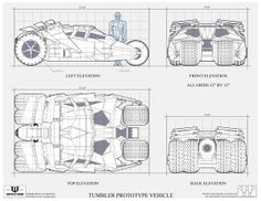 The Batmobile appears in the Batman Begins and The Dark Knight directed by Christopher Nolan. The Vehicle itself looks l. Dark Knight, Posters Geek, Enterprise Logo, Wayne Enterprises, Blueprint Art, Batman Batmobile, Car Design Sketch, Im Batman, Batman Stuff