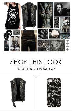 """Tyr"" by thwgi ❤ liked on Polyvore featuring Carol Christian Poell, Burberry, Chrome Hearts, Marc by Marc Jacobs, men's fashion and menswear"