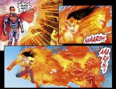 Superman Kills Martian Manhunter (Injustice)