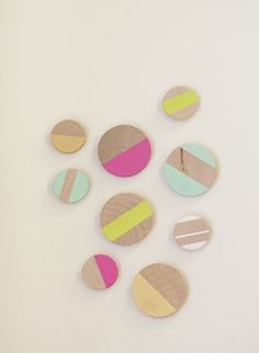 (2) wood magnets | Sumally