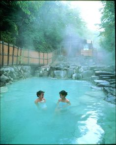 Best Hot Springs Around the World that are Earth's Greatest Gift to Mankind Onsen - Japanese hot springs... heaven on Earth.