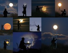 Playing with the moon (Laurent Laveder)