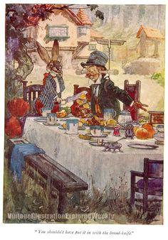 V I E W-Vintage Illustration Explored Weekly - Harry Rountree