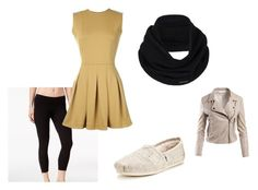 """Sara Second"" by kailasaurusrex ❤ liked on Polyvore featuring Calvin Klein, TheP., TOMS, prAna and Sans Souci"