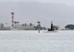 The USS Santa Fe departs from Pearl Harbor to the western Pacific. #Navy #USNavy #AmericasNavy navy.com