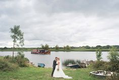 By the shore at Lough Ree before their marquee reception. A real wedding by Couple Photography. Marquee Wedding, Couple Photography, Real Weddings, Irish, Reception, Waves, Couples, Boat, Dinghy
