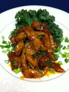 Asian Bourbon Chicken