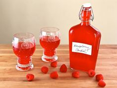 Anne of Green Gables Raspberry Cordial - Literary Recipe #Travel