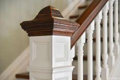 Edwardian staircase newel cap. 852 Clayton St, San Francisco, CA 94117 (MLS #444310) #FoundOnRedfin