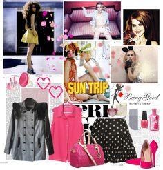 """pink Sunday!"" by magictrickinwonderland on Polyvore"