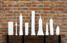 Skyscraper Candles by Naihan Li.