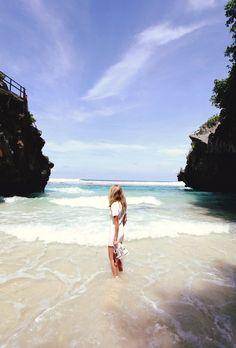 ESCAPADE: Partagez cette image si vous aimeriez être à cet endroit présentement. #escapade #plage