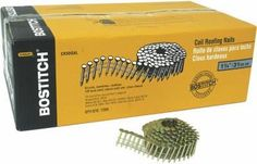 Stanley Bostitch CR2DGAL 7,200-Pack 1-Inch Galvanized Roofing Nails - Quantity 1, As Shown