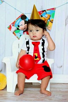 Mickey mouse birthday outfit
